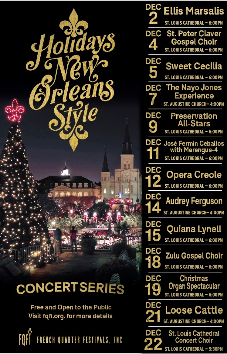 Christmas 2021 New Orleans The Holidays New Orleans Style Calendar Of Holiday Season Events